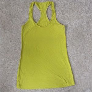 Yellow Lululemon Tank